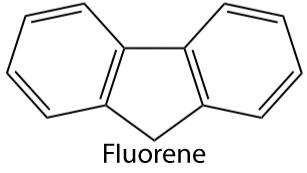 Fluorene molecule